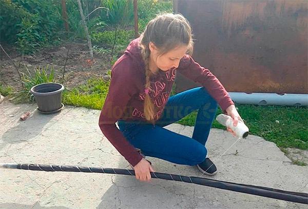 спандбонд-обвязка-трубы-фото