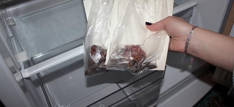 Фото клубнелуковиц в пакете