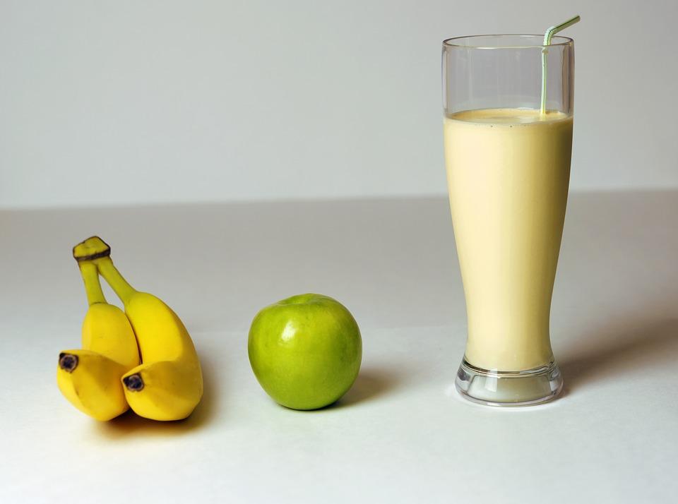 Фото напитка из бананов