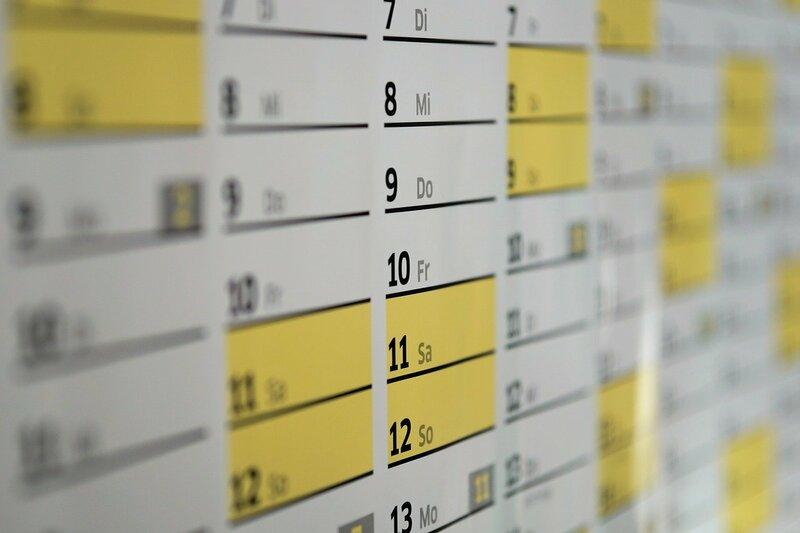 Фото календаря