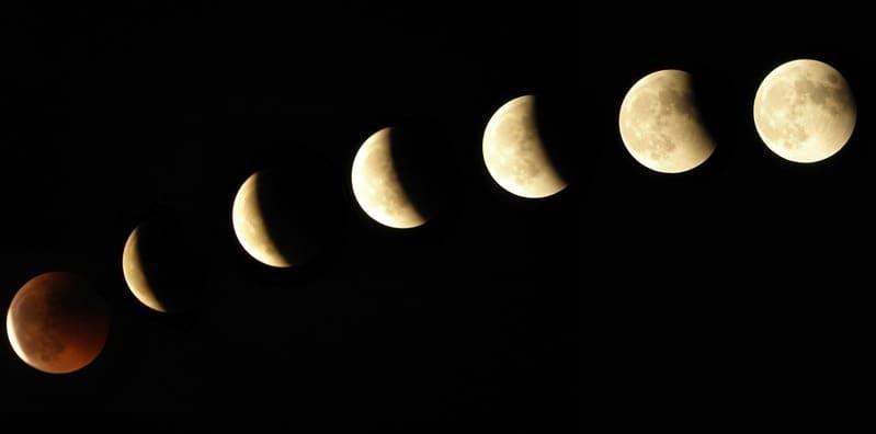 Фото лунных фаз