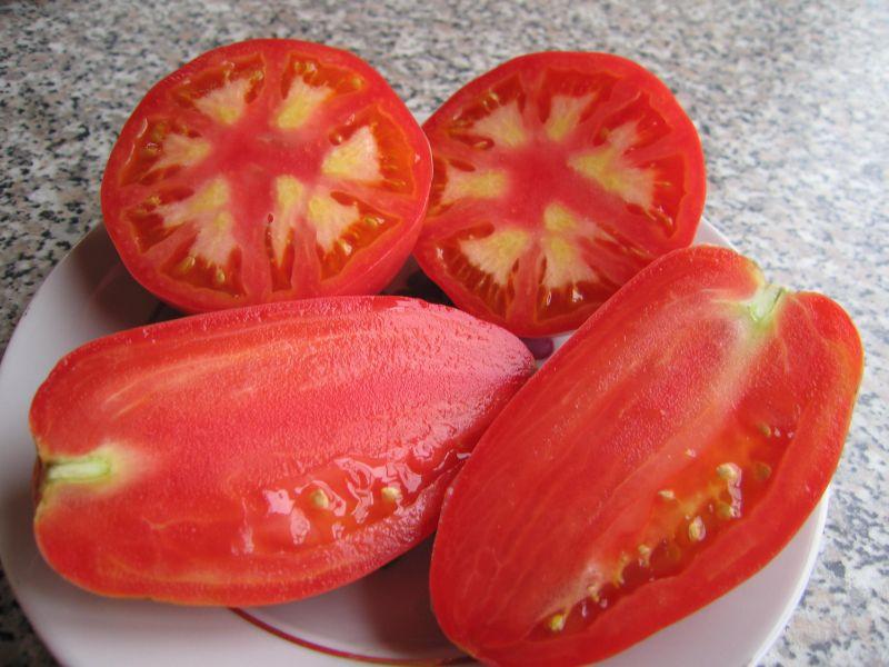 Фото томатов в разрезе