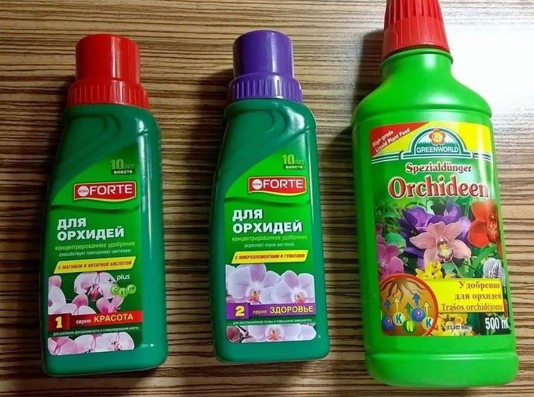 Подкормки орхидеи