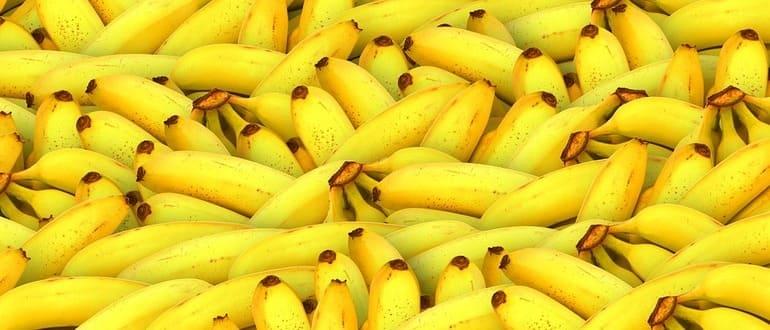 Фото банана главная