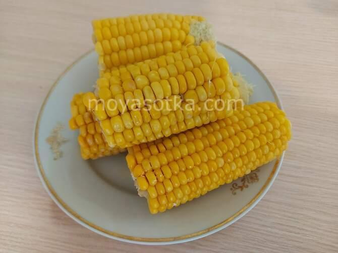 Фото кусков кукурузы