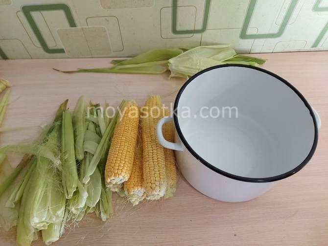 Фото приготовления к варке