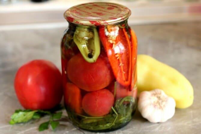 Фото помидоров с болгарским перцем