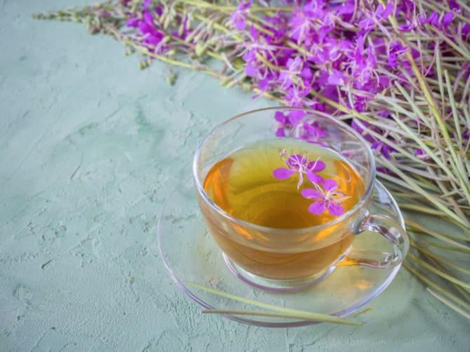 Фото заваренного иван-чая