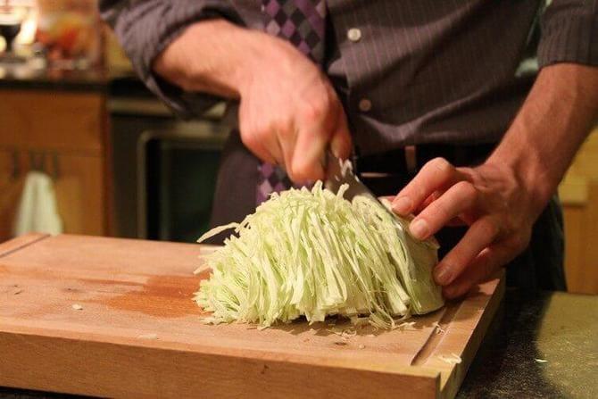Фото шинковки капусты