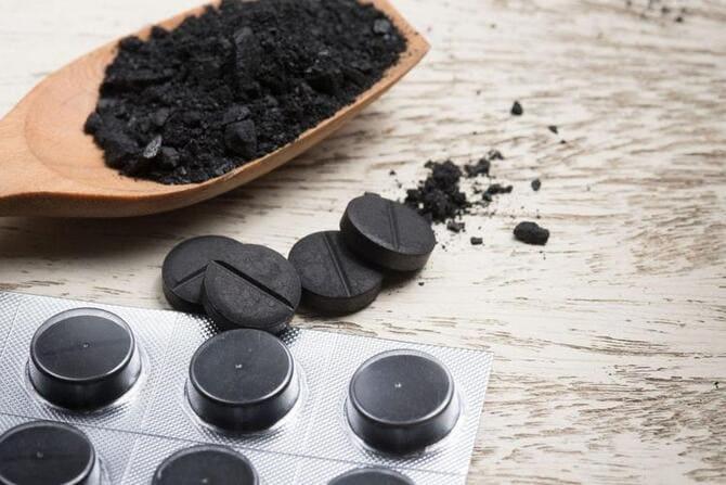 Фото активированного угля