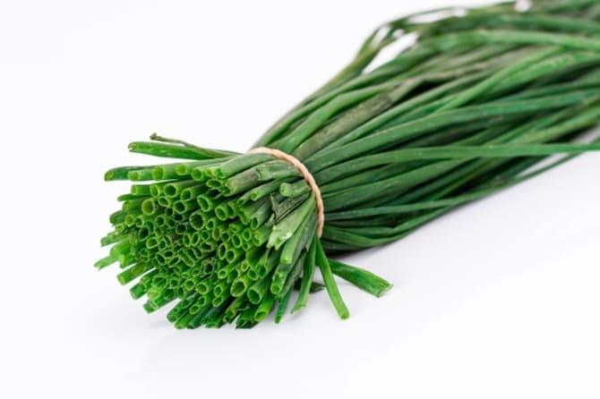 Фото зелени лука