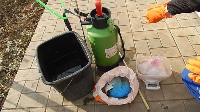 Фото приготовления медного купороса