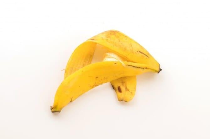 Фото банановой шкурки