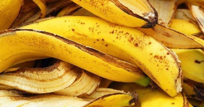 Фото банановых шкурок